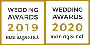 Wedding Awards L'Atelier des Caprices 2019-2020